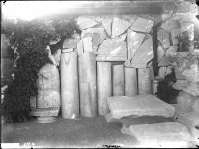 Marble altar screens and column shafts from the excavations of Chersonesos